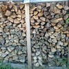 薪ストーブ原生代④ 薪棚2号機の整理と薪割りドンドン