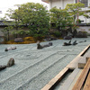 東寺・観智院の新庭園と旧庭園
