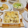 【洋食】グラタン(レシピ付)とエムクオーティエのクリームパンの日/Gratin