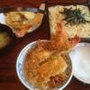 【今日の食卓】箱根湯本駅近くの「山そば」で、天ざるうどんと天丼並