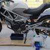 【バイクネタ】VTRのオイル交換