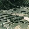 昭和30年頃の小川小学校・小川中学校