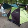 初めての泊まりキャンプは「みどりの森キャンプ場」