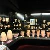 盛岡市遺跡の学び館で土器を見る