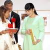 6月28日 G20首脳会議の開催は誰でも知っているので、イタリア・ボローニャ国際絵本原画展に眞子内親王が訪問鑑賞したニュース