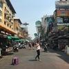 タイ旅行。バンコク市内/カオサンロード