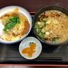 最強のかつ丼があるお店で食べる蕎麦のセットは最高でした @麹町 天かめ平河町店