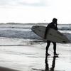 9〜11月はオンシーズン、江ノ島の海でマリンスポーツはまだまだできます。水温が意外と温かい!