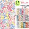 iPhone X/XS対応 花柄 日本製 手帳型ケース 入荷しました!
