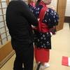 深大寺で早乙女体験!木島平村米稲刈りの儀
