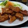 グリル林「豚肉から揚げ定食」