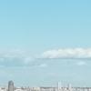 タワーマンションで見た雲は目線の高さ
