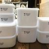 【セリア】新商品のフタ付き保存容器がサイズ豊富で使いやすそう