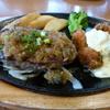 ハンバーグ&牡蠣フライ ランチ