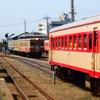 キハ222+2004+205、2005そろい踏み ひたちなか海浜鉄道2014年