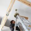 日野市三沢でシーリングファン取付工事をしてきました。