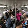 大声で電話する人が少ない上海の地下鉄