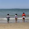 白浜中央海水浴場 大人気ビーチの隣にあるほっこりローカルビーチ