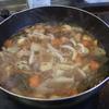 幸運な病のレシピ( 1622 )昼:チリコン(アンチョビ入)、根菜煮漬け、2019年10月のバンケット(2)