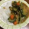 米粉カレールーを使った夏野菜カレー