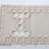 ハーダンガー刺繍の練習にコスモ5番刺繍糸とコングレスで