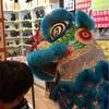 中華獅子舞の中の人