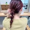 【くるりんぱヘアアレンジ】ミディアムロングの可愛いヘアスタイル