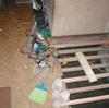 床工事2(玄関ホールの施工02)