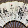 小川千甕画扇絵「華厳瀧見茶屋」 会場販売品のご紹介【フロイス堂】