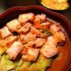 #72 塩漬け豚バラ肉の蒸し焼きをつくった。(料理覚え書)