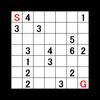 歩数指定迷路:問題15