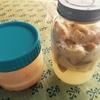 りんごとミカンで天然酵母作りました