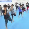 大人気キックボクシングのクラスが毎日になります。