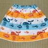 子どもの簡単スカートを作りました