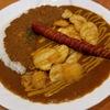 【食事】カレー屋パク森 カレーにソーセージとじゃがいものトッピング(980円)+自家製ラッシー100円 渋谷 ドライカレー+欧風カレーが好きな人は行ったほうが良い。