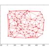 PythonのScipyでボロノイ図・ドロネー図