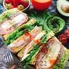 アボカドチーズパンで☆ミルフィーユ味噌カツのサンド