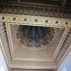 ラバト モハメッドV世廟 室内天井