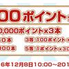 【楽天】 キャンペーンの抽選率設定ミスで10000ポイントゲット!けどどうせ取り消すんでしょ?
