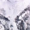 【乗鞍岳で雪崩】
