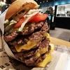 【ファットバーガー】偏差値7!渋谷の6段重ねバーガーは最高に頭が悪くて最高に美味い!