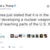 たった4行のTwitterで中国をあやつるトランプ大統領のスゴ腕。