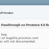 Proxmox 4.0 Beta 1 では PCIパススルーが出来ないっぽい