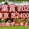 【青葉賞 2021】過去10年データと予想