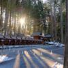 春の秩父旅・3日目:三峯神社(2)遥拝殿・お仮屋・宿坊