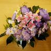 注文していた造花の花束が届きました。