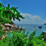 「ジャンソムベイ(Jansom Bay )」~タオ島の中心メーハートから近く歩いて行ける隠れ家ビーチ!!