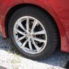 タイヤを交換してみたよー