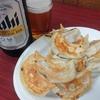町中華「わくい@大山」で、大盛り餃子とビールを味わう幸せ