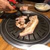 釜山西面で行った焼肉の店は2軒ともロッテの裏手で隣どおし